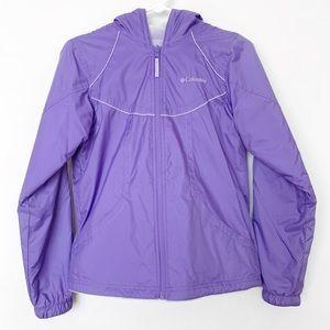 Columbia Fleece Lined Reversible Purple Jacket XS